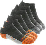 Skechers Girls' S108804 6-Pack 1/2 Terry Low Cut Socks