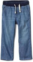 Gap Pull-on denim pants