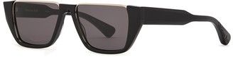 Christian Roth CR-401 Black Cut-out Sunglasses