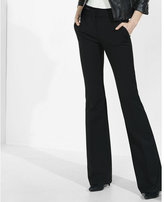 Express mid rise extreme stretch flare pant