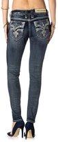Rock Revival Jeans Women's Celine S204 Rhinestone Sequin Skinny