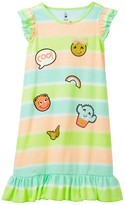 Petit Lem Cool Emoji Nightgown (Toddler & Little Girls)