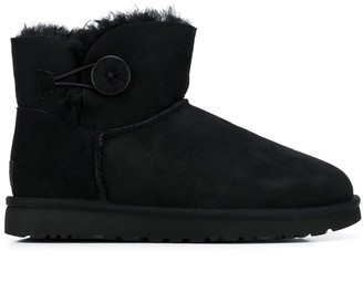 UGG Button Fastened Ankle Boots