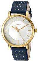 Timex Originals Leather Strap Watches