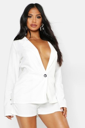 boohoo Tailored Blazer & Short Co-Ord