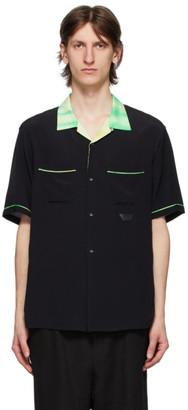 Poggys Box Black and Tie-Dye Bowling Shirt