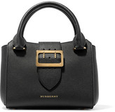 Burberry Textured-leather Tote - Black