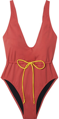 Solid & Striped The Michelle Bow-detailed Swimsuit