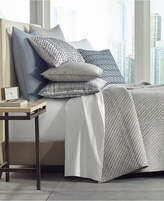 Hotel Collection Diamond Stripe Quilted Full/Queen Coverlet, Created for Macy's Bedding