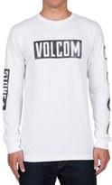 Volcom 'Knock' Graphic Long Sleeve T-Shirt