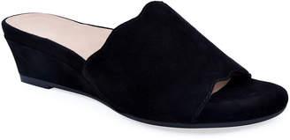 Bettye Muller Concept Seema Suede Demi-Wedge Slide Sandals