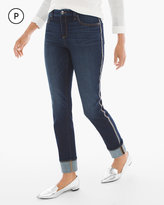 Chico's Side Embellished Girlfriend Jeans