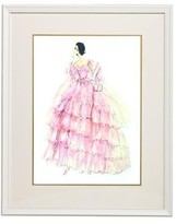 The Well Appointed House Barbie Couture Series Framed Girls Wall Art: In the Pink