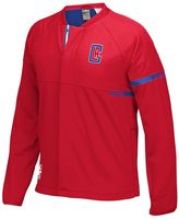 adidas Men's Los Angeles Clippers On-Court Henley Jacket