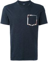 Woolrich printed pocket T-shirt - men - Cotton - L