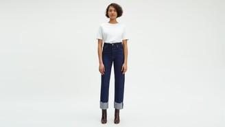 LeviLevi's Ribcage Straight Selvedge Women's Jeans