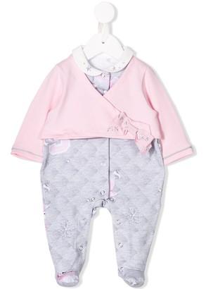 Lapin House Wrap-Style Pajamas