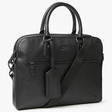 Polo Ralph Lauren Pebbled Leather Briefcase, Black