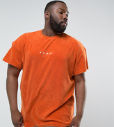 Puma Plus Towelling T-Shirt In Orange Exclusive To Asos 57533303