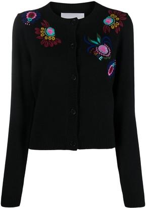 La DoubleJ Embroidered Cardigan