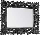 Gallery Venezia Baroque Large Wall Mirror - Black