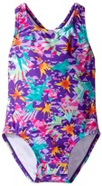 Speedo Kids Printed Racerback One-Piece Swimsuit w/ Snaps (Infant/Toddler)