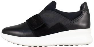 Salvatore Ferragamo Black Patent leather Trainers