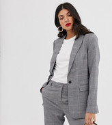 Y.A.S Tall Thesis check two-piece blazer