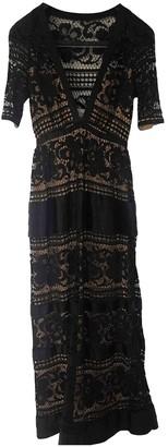 Temperley London Black Lace Dress for Women