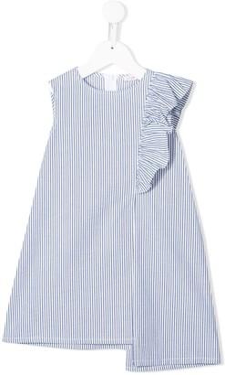 Il Gufo Striped Print Dress