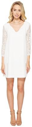 BB Dakota Women's Helene Lace Sleeved Dress