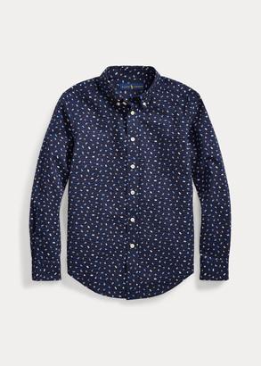 Ralph Lauren Nautical Seersucker Shirt