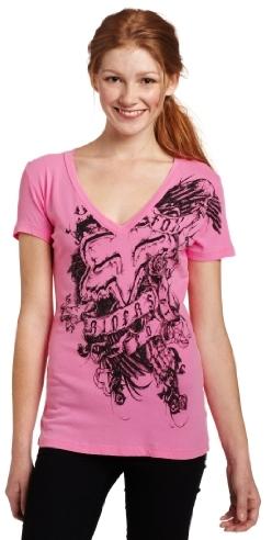 Fox Juniors Buzz Worthy V-Neck Shirt