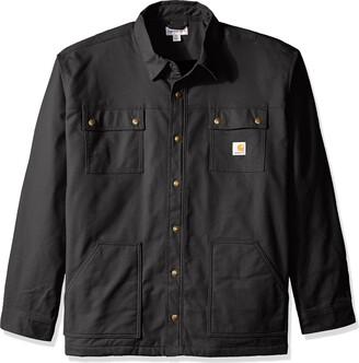Carhartt Men's Big & Tall Full Swing Quick Duck Overland Shirt Jacket