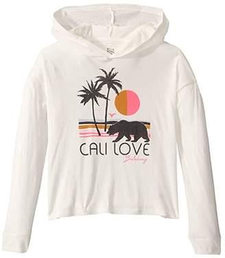Billabong Kids Cali Love Beach T-Shirt (Little Kids/Big Kids) (Cool Wip) Girl's Clothing