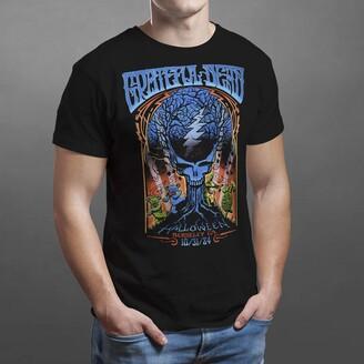 Liquid Blue Short Sleeve Crew Neck T-Shirt