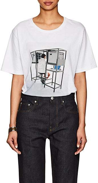 Off-White Byredo x Byredo x Off - White Women's Unisex Graphic Jersey Slim T-Shirt - White