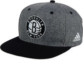 adidas Brooklyn Nets Fog Snapback Cap
