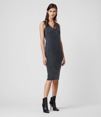 AllSaints Leigh Stud Dress