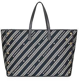 Givenchy Women's Large Bond Logo Jacquard Shopper