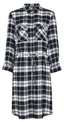 Dorothy Perkins Womens Tall Multi Coloured Check Print Shirt Dress