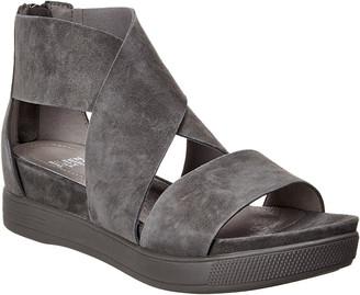 Eileen Fisher Sport Suede Platform Sandal