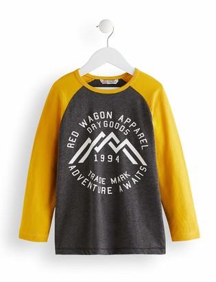 Amazon Brand - RED WAGON Boy's Long Sleeve Top