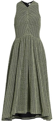 Proenza Schouler White Label Geo Broderie Anglaise Dress