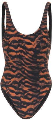 The Upside Claudina tiger-print swimsuit