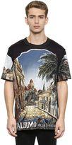 Dolce & Gabbana Palermo Printed Cotton Jersey T-Shirt