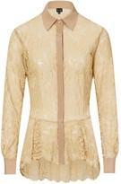 BEIGE Sophie Cameron Davies Lace Shirt