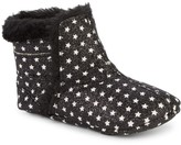 Old Soles Baby Girl's Aspen Faux Fur-Lined Leather Booties
