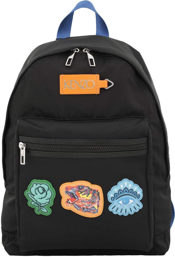 Kenzo Backpack With Patches