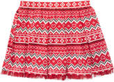 Epic Threads Mix and Match Pleated Fair Isle Skirt, Little Girls, Created for Macy's